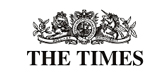 The Times logo; Cool places to stay in Britain article featuring Barford Beach House