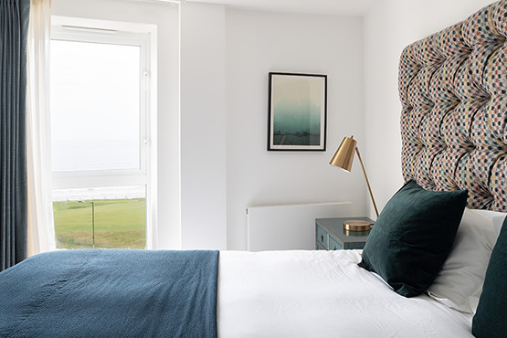 Pentire Penthouse Bedrooms - Gannel