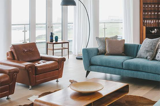 Pentire Penthouse Living Room