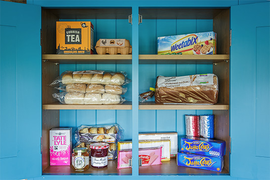 What you should - picture of food cupboard