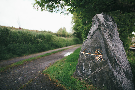 Getting to Tregulland - picture of sign