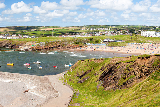 Summerleaze Beach - Bude from Tregulland