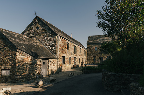 Tregulland Barn - the accommodation